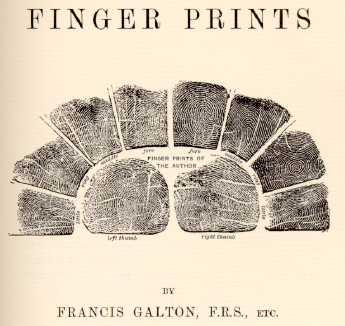 Francis Galton: Fingerprinter